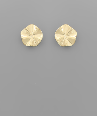 Gold Disk Studs