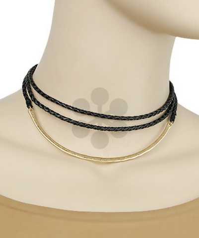 Bar & Rope Braid Choker