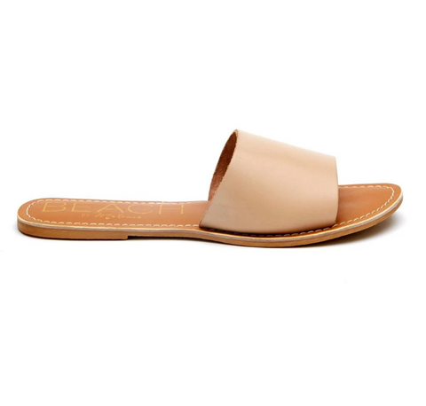 Cabana Natural Leather Slide by Matisse