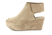 The White by Chocolat Blu in Taupe Suede