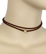 Double Layer Choker Necklace