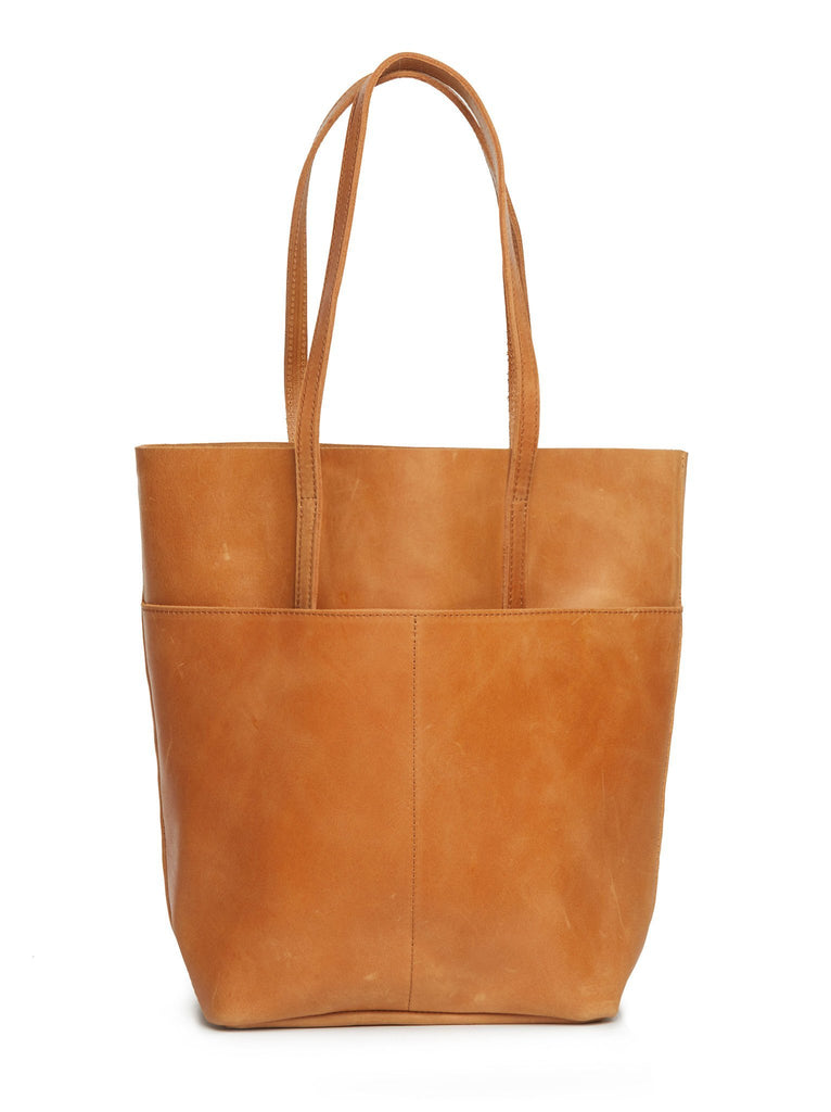 Selam Magazine Tote in Cognac by ABLE