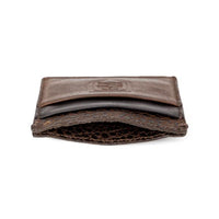 White Wing Theodore Leather Front Pocket Wallet