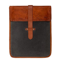 Heritage Waxed Canvas Vertical Laptop Sleeve