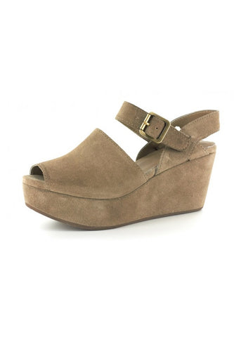 Wagga in Taupe Suede by Chocolat Blu