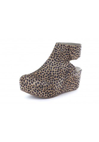 Yola in Leopard Suede by Chocolat Blu