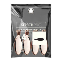 Oval Rose Gold Creaseless Clips by KITSCH