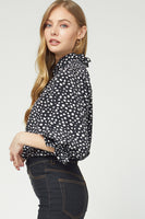 Back To Manhattan Top in Black