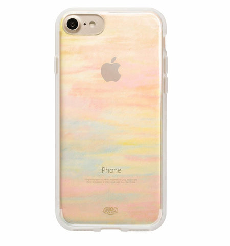 Clear Water Color Slim Hard Case