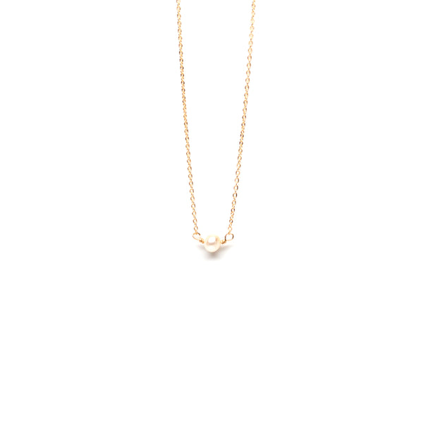 Seed Pearl Necklace by EJD