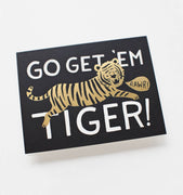 Go Get 'Em Greeting Card by Rifle Paper Co.