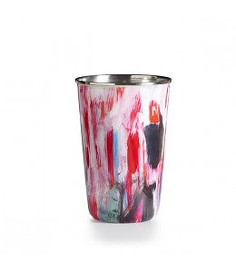 Thai Lily Enameled Tumbler Candle by Illume