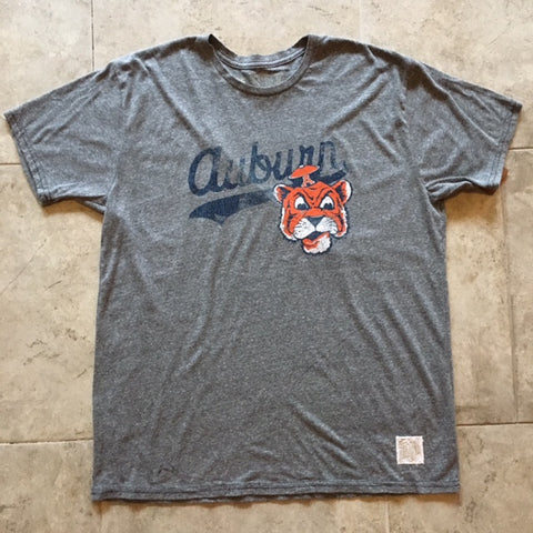 Auburn Tigers Textured Triblend T-shirt by Retro Brand