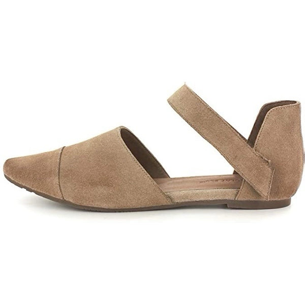 Gaia in Taupe Suede by Chocolat Blu