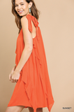 Pretty Parker Dress in Orange