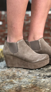 Wilmer in Taupe Suede by Chocolat Blu