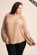 Christy Mocha Top