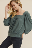 Bessy Square Neck Top
