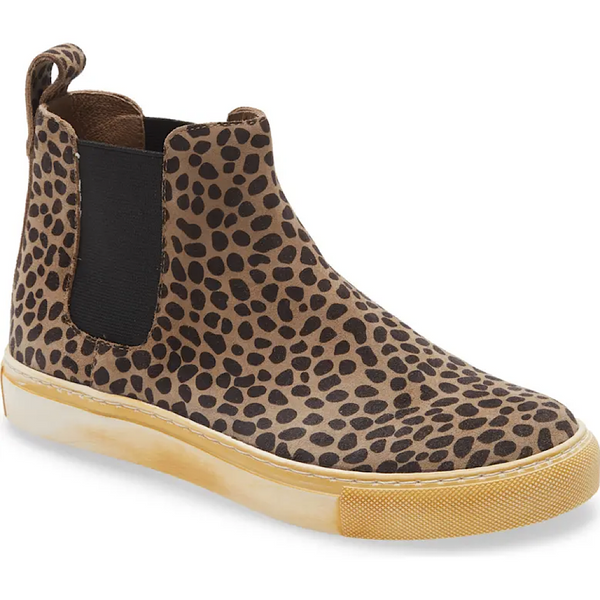Nash in Leopard Suede by Chocolat Blu