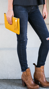 studio 3:19 gigi new york crossbody in mustard