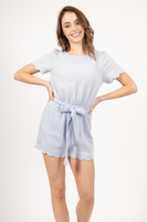 Ivelisse Romper in Light Blue