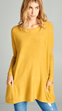 You Are Mine Sweater in Mustard
