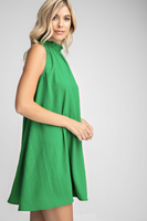 Caterina Swing Dress in Green