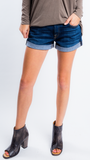 Roll Up Jean Shorts by 7 For All Mankind