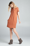 Brooke Rust Dress
