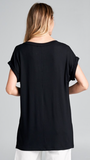 Annabella Top in Black