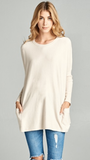 You Are Mine Sweater in Ivory