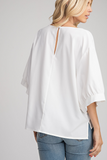 Polina Balloon Sleeve Top