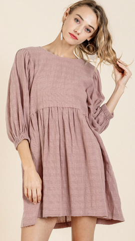 Lola Light Mauve Dress