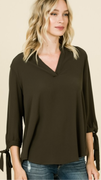 Ashley V-neck Top