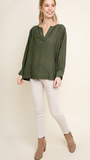 Dakota Olive Top