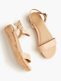 Larissa Platform by Able in Tan