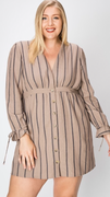 Josie Dress in Taupe