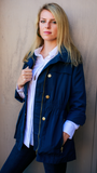 Newport Rain Slicker in Navy by Tyler Böe