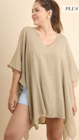 All Away Tunic in Taupe