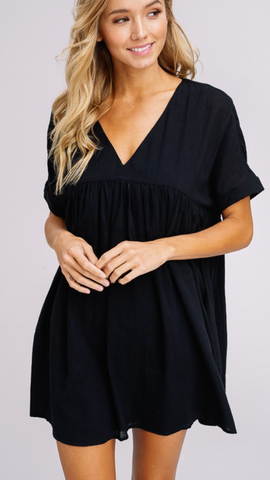 Annabelle Tunic in Black