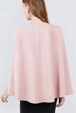 Pretty In Pink Cape Top (XL-2X)
