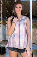 Ivelis Sleeveless Stripe Top