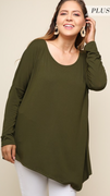 Heather Olive Top
