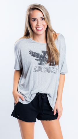 Auburn Swing Tee by Retro Brand