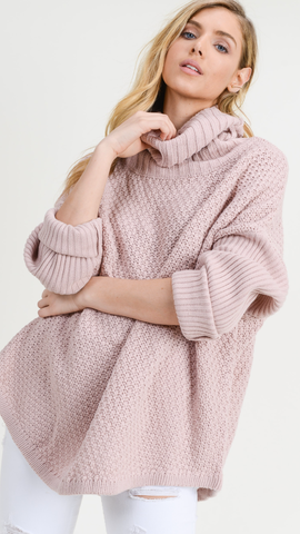 Mazey Mauve Sweater