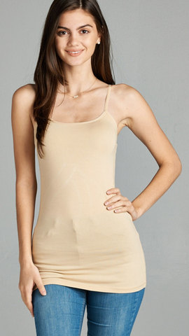 Basic Cami with Adjustable Straps