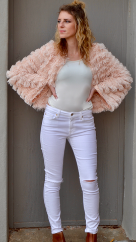 Merryl Blush Jacket