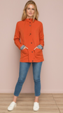 Marlee Rust Hooded Jacket