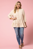 Paola Sand Top (XL-2X)
