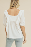 Louisa Top in White